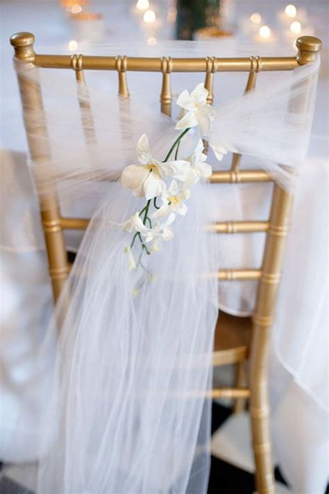 diy chair decorations white tulle cheap wedding decorations wedding decoration ideas diy wedding