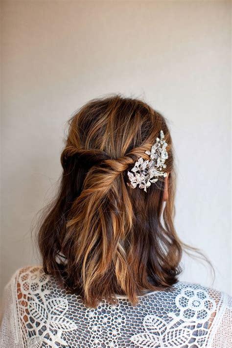 best 25 medium length bridal hair ideas on