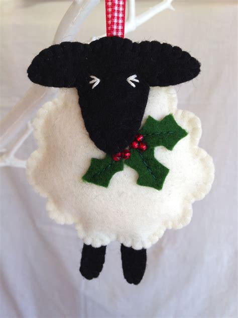 Felt Decor by Decorations Wool Felt Sheep Decoration