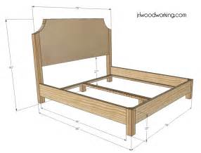 build king size bed frame wood bed frames and headboards plans pdf woodworking