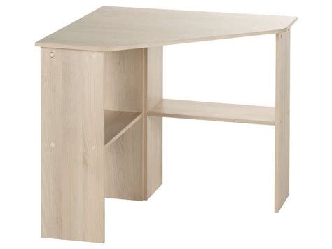 Bureau D Angle Informatique by Bureau Informatique D Angle Angus Coloris Acacia Vente