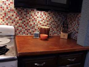 How To Install A Glass Tile Backsplash In The Kitchen Installing A Tile Backsplash In Your Kitchen Hgtv