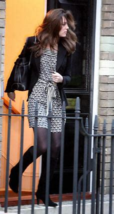 Prince Harrys Chelsy Wears 45 Warehouse Dress by High Society Chelsy Steps Out In 163 45 Frock Daily