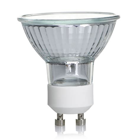 Lu Halogen wilko halogen spotlight bulb white gu10 mr16 20w 90lu x 3