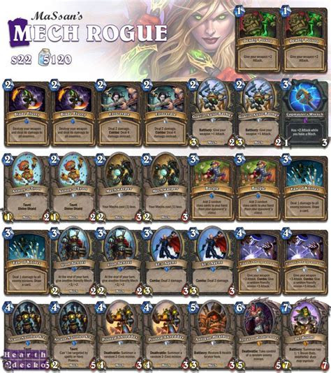rogue deck hearthstone 25 best ideas about rogue deck hearthstone on