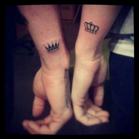 tattoo couple king and queen king and queen tattoos for men ideas and inspiration for