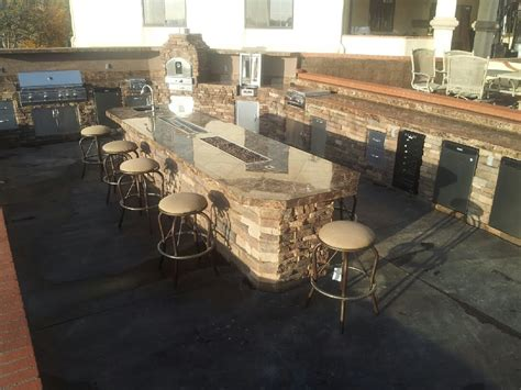 Fire Pit Grill Table Bbq Islands Fire Places Fire Tables Complete Bbq