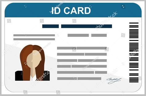 template id card 34 professional id card designs psd eps format