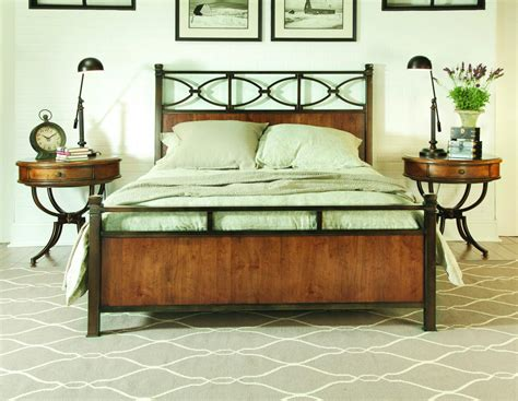 metal and wood bed furniture gt bedroom furniture gt bed set gt american drew wood bed set