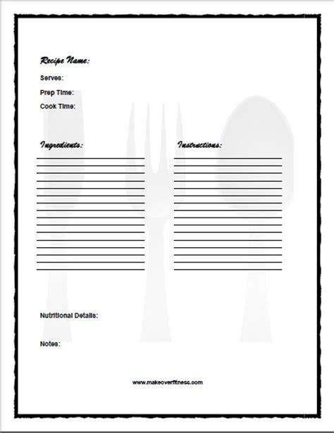 elr printable recipe journal recipe journal book