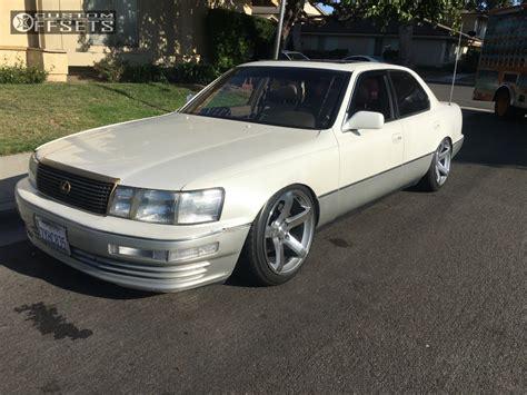 1992 lexus ls400 wheel offset 1992 lexus ls400 tucked coilovers