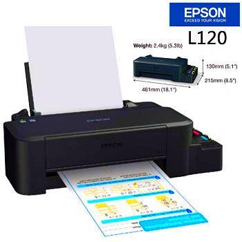printer epson l120 spesifikasi dan harga