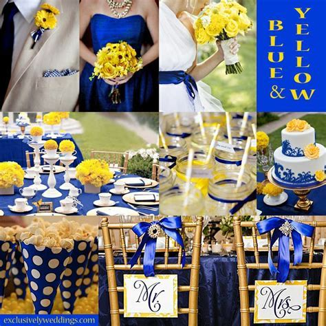 130 best BLUE and YELLOW wedding ideas images on Pinterest
