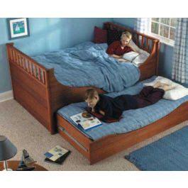 woodworkers journal trundle bed plan rockler