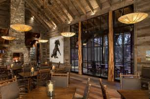 grand lodge dining room grand lodge rustic dining room austin by rehme