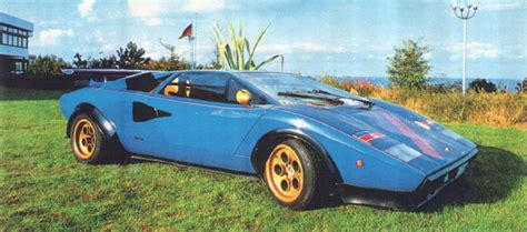 Lamborghini Countach Modified by Walter Wolf Specials Wwolf4 Hr Image At Lambocars