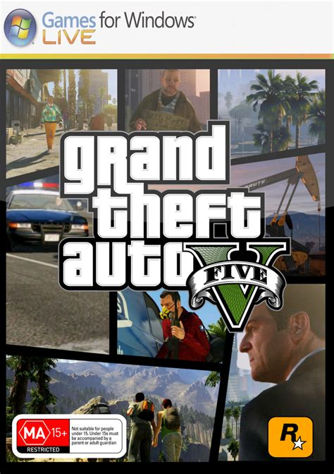 Grand Theft Auto V Pc by Grand Theft Auto V Pc Cover By Dmac91 On Deviantart