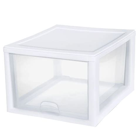 sterilite single drawer storage upc 073142310801 sterilite storage organizers 27 qt