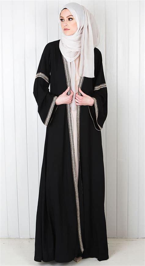 Abaya Dress Gamis Jubah Swaroski Elzha so beautifully modest dresses awe abayas muslim and hijabs