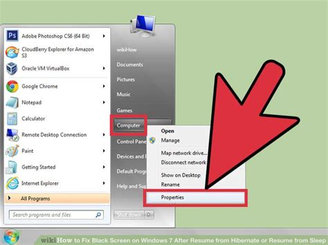3 ways to fix black screen on windows 7 after resume from hibernate or resume from sleep