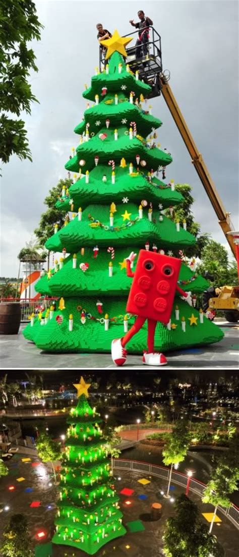 10 most amazing christmas trees from around the globe
