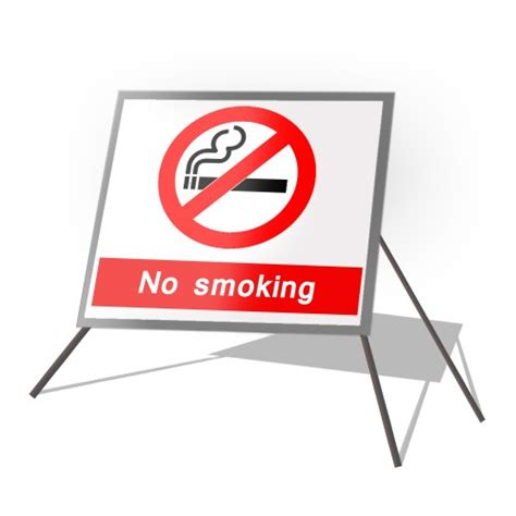 no smoking sign up no smoking roll up sign manchester safety services