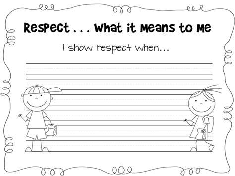 printable worksheets on respect all worksheets 187 teaching children respect worksheets