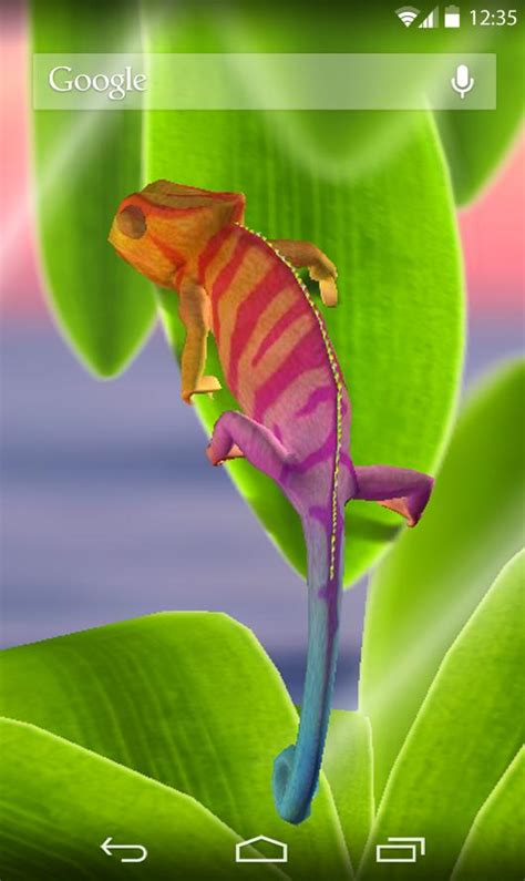 chameleon apk chameleon 3d live wallpaper android apps on play