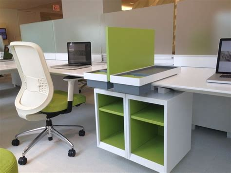 teknion benching teknion expansion with new storage neocon 2013 systems