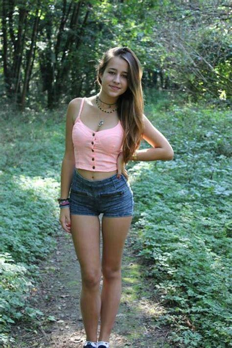 young girl models shorts pin by james stephens on short shorts pinterest short