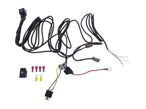 whites 12v driving light wiring harness kit