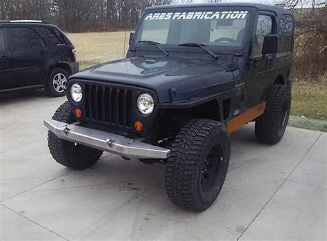 jeep yj winch front width winch evolution bumper yj tj lj