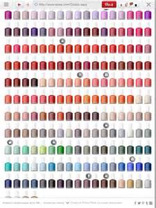 essie color chart essie color chart nails nails nail