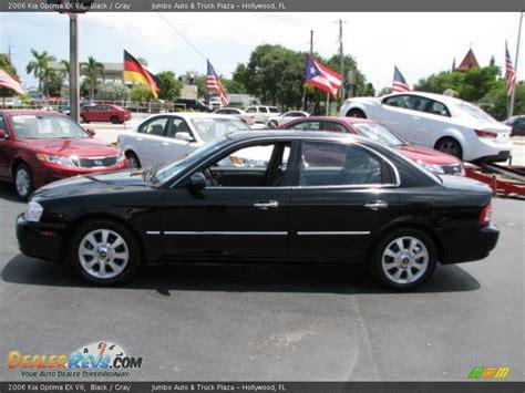 2006 Kia Optima Ex 2006 Kia Optima Ex V6 Black Gray Photo 5 Dealerrevs