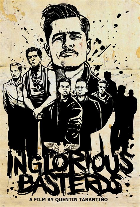 quentin tarantino film print collection the lost art of inglourious basterds to sell amazing