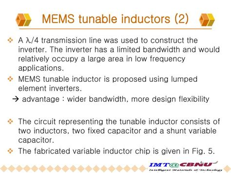 tunable spiral inductor seminar report rf mems tunable inductor 28 images alma de herrero micromecanismos analysis of rf mems