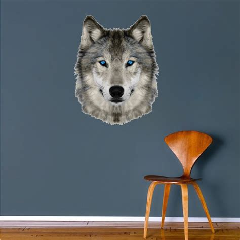 wolf wall stickers wolf wall mural decal animal wall decal murals