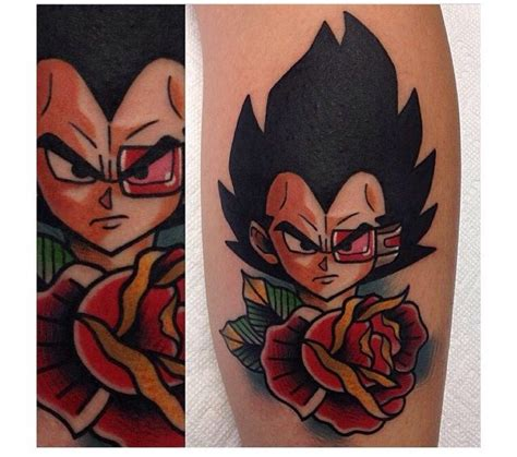 dragon ball z tattoo designs 12 anime designs
