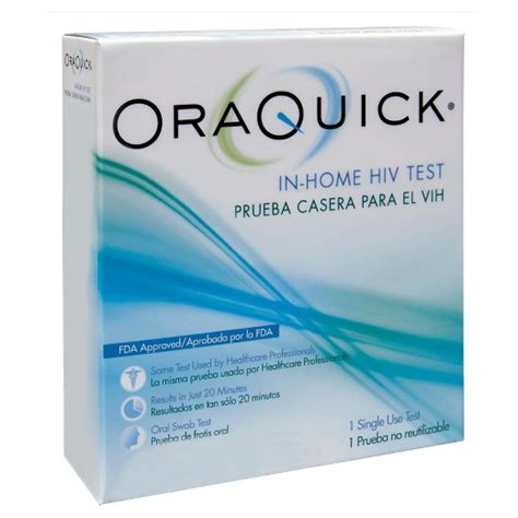 At Home Test by Oraquick In Home Hiv Test Kit Target