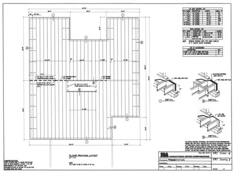 How To Draw Floor Plan structural wood corporation placement plans