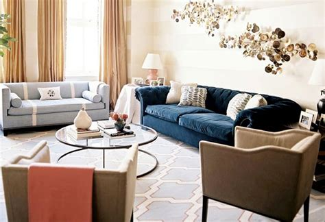 Modern Chic Living Room Ideas | new york designer sara gilbane modern chic living room
