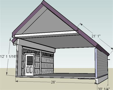 Saltbox Garage Plans by Home Ideas