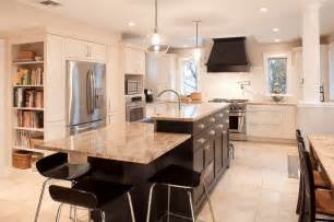 Island For Kitchen Ideas Kitchen Island Design Ideas With Seating Smart Tables Carts Lighting