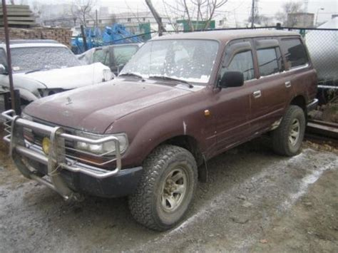 1991 toyota land cruiser information and photos momentcar 1991 toyota land cruiser information and photos zombiedrive