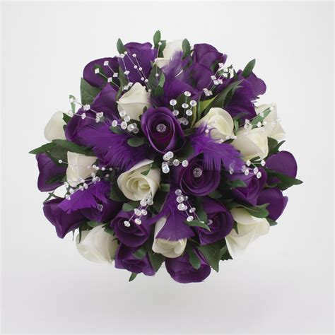 Purple Flowers Wedding by Purple Flowers For Wedding Typesofflower
