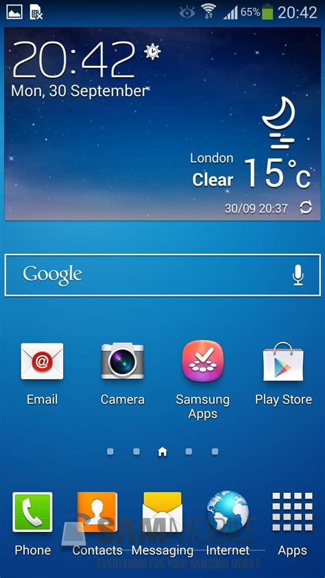screenshot with android exclusive i9500xxuemj5 leaked android 4 3 test firmware for galaxy s4 gt i9500 sammobile