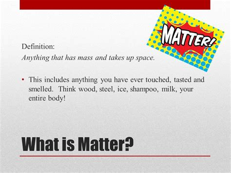 define matter grade 7 science ms willis lawfield ppt