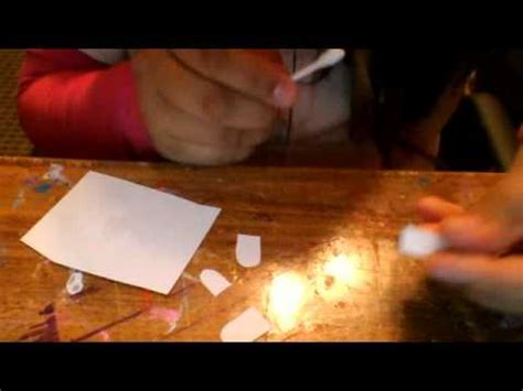 How To Make Paper Nail - how to make nails out of paper