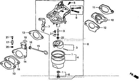 honda g150 engine parts diagram honda gx240 engine parts