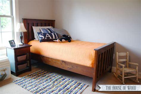 diy twin bed diy restoration hardware twin bed